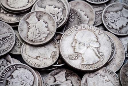 Various junk silver bullion coins