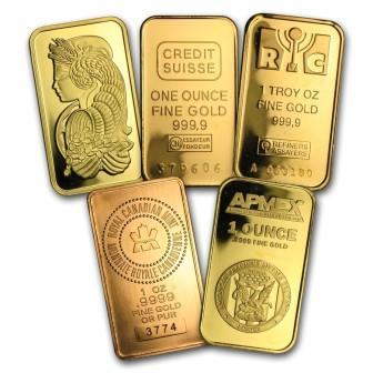 Gold Bullion Bars