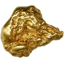 natural gold nugget