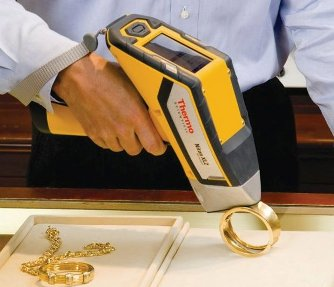 An X Ray Spectrometer used to determine gold purity